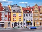 Kibri 37163 Stadthäuser um 1900