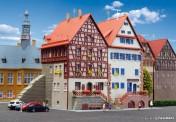 Kibri 37368 Fachwerkhäuser an der Stadtmauer