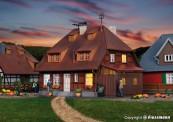 Kibri 38209 Haus Mühlenweg mit Hausbeleuchtung