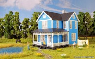 Kibri 38841 Schwedenhaus, blau