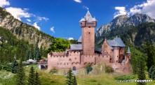 Kibri 39010 Burg Falkenstein in Kärnten