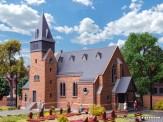 Kibri 39766 Kirche mit Mauer aus dem Westerwald