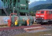 Kibri 39932 Dieseltankstelle SchwarzBau