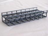 KN15-2 Kasten-Unterzugbrücke 15cm zweigleisig