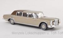 Brekina 13008 MB 600 (W100) Landaulet gold
