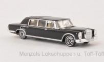Brekina 13010 MB 600 (W100) Landaulet schwarz