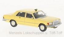 Brekina 13161-2 MB 450 SEL (W116) gelb Taxa (DK)