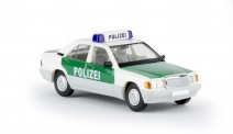 Brekina 13211 MB 190E Lim. Polizei Stuttgart