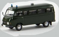 Brekina 13254 MB L206 D Bus Polizei Gefängnistranspo
