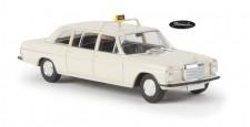 Brekina 13404 MB 220/8 D (V115) lang Taxi elfenbein