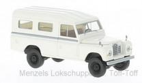 Brekina 13775 Land Rover 109 weiß (geschlossen)
