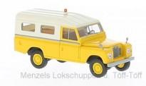 Brekina 13776 Land Rover 109 gelb (geschlossen)