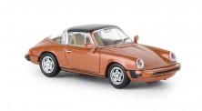 Brekina 16362 Porsche 911 G targa orange-met. 1976