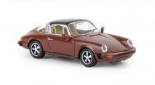 Brekina 16363 Porsche 911 G targa braun 1976