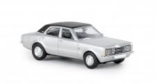 Brekina 19118 Ford Taunus GXL silber/schwarz 1972