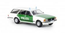 Brekina 19505 Ford Granada II Turnier Polizei 1977
