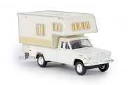 Brekina 19830 Jeep Gladiator Camper weiß
