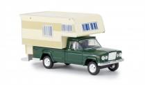 Brekina 19835 Jeep Gladiator A Camper moosgrün