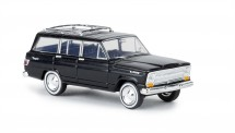 Brekina 19862 Jeep Wagoneer schwarz