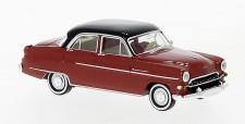 Brekina 20874 Opel Kapitän Lim. rot/schwarz (1956)
