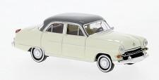 Brekina 20876 Opel Kapitän Lim. elfenbein/grau (1956)