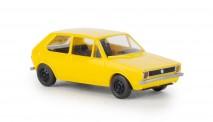 Brekina 25538 VW Golf I gelb 1974
