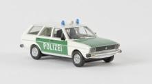 Brekina 25606 VW Passat (B1) Variant Polizei weiß/grün