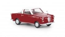 Brekina 27851 Goggomobil Coupe rot/weiß