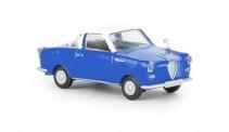 Brekina 27858 Goggomobil Coupe blau/weiß
