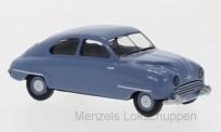 Brekina 28601 Saab 92 blau 1950