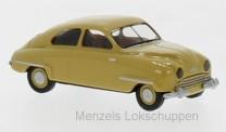 Brekina 28604 Saab 92 dunkelgelb 1950