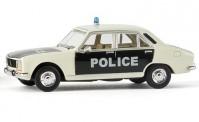 Brekina 29108 Peugeot 504 Lim. Police