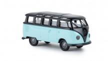 Brekina 31842 VW T1/2b Samba schwarz/pastelltürkis