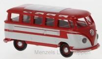 Brekina 31843 VW T1/2b Samba rot/weiß