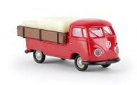 Brekina 32974 VW T1/2b mit Westfalia-Pritsche rot