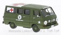 Brekina 34322 Dodge A 100 Bus US Army medical Service