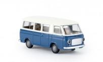 Brekina 34410 Fiat 238 Bus weiß/blau