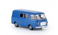 Brekina 34430 Fiat 238 Halbbus blau, TD