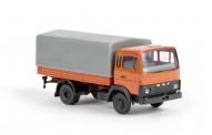 Brekina 34800 DAF 900 Pritsche/Pl. orange