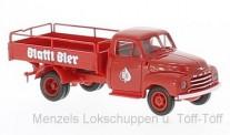 Brekina 35329 Opel Blitz Bierpritsche Blattl Bier