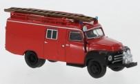 Brekina 35400 Opel Blitz LF8 rot /schwarz (1952)