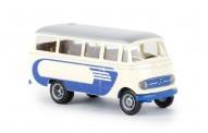 Brekina 36146 MB O319 Reisebus hellbeige/blau