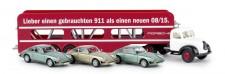 Brekina 42269 Magirus Mercur Autotransport-SZ Porsche