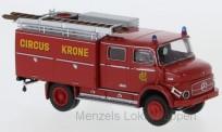 Brekina 47164 MB LAF1113 TLF16 Circus Krone