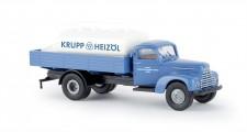 Brekina 49031 Ford F3500 Pritsche Krupp Heizöl