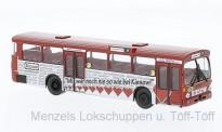 Brekina 50762 MB O305 Stadtbus Hamburg/Kiesow