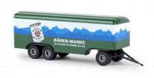 Brekina 55294 3a Koffer-Anhänger Bären Marke