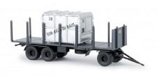 Brekina 55304 Rungen-Anhänger m. Container DB