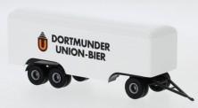 Brekina 55306 3a Koffer-Anhänger Dortmunder Union Bier