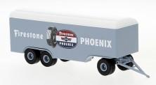 Brekina 55308 Anhänger (3a) Koffer Phoenix Reifen